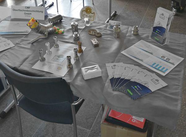 Chemisch Nickel auf der Tischmesse in Dornburg