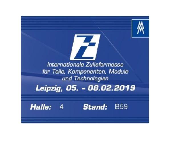 Z-Zuliefermesse 2019 in Leipzig